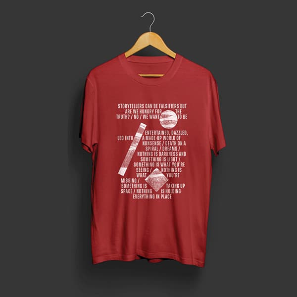 tshirt radiodurans rouge