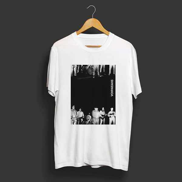 tshirt radiodurans noir et blanc