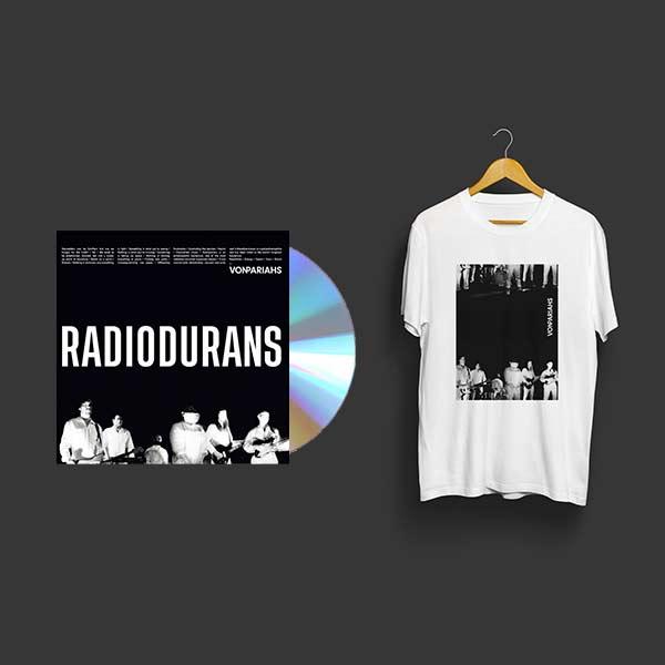 photo cd et tshirt von pariahs noir et blanc