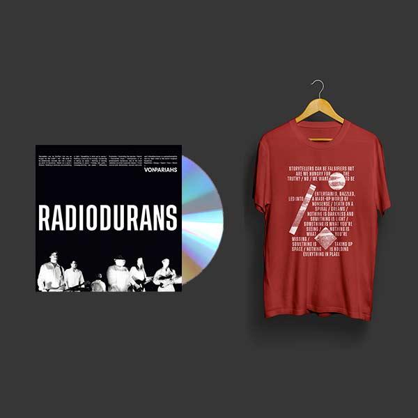 photo cd et tshirt rouge von pariahs
