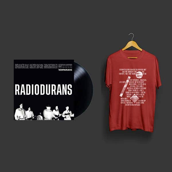"pack vinyle + t-shirt ""red"""