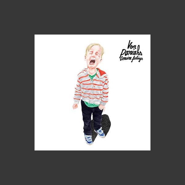 pochette CD de l'album genuine feelings par Von Pariahs